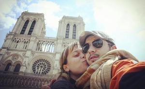 La fotos de homenaje a Notre Dame de los lectores de El Norte