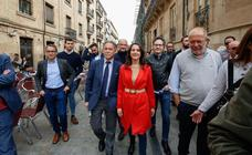 Inés Arrimadas en Salamanca