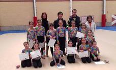 La gimnasia rítmica, la gran protagonista en Abades