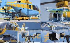 La DGT despliega su flotilla de drones durante la Semana Santa