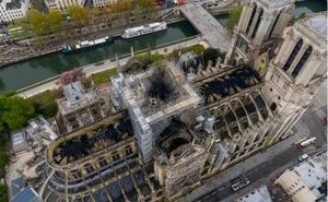 El desastre de Notre Dame, en una imagen de 360 grados