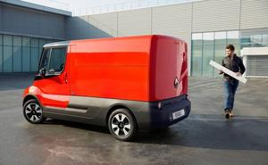 Renault experimentará con un vehículo comercial eléctrico destinado al reparto urbano