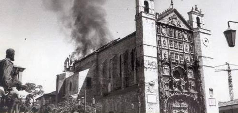 Valladolid recuerda el «voraz» incendio de San Pablo en 1968