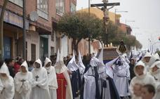 Procesión Las Llagas de Cristo de la cofradía El Calvario en Medina del Campo