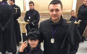 El cofrade del Ecce Homo que llegó de Bucarest a Medina de Rioseco