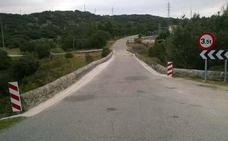 La Diputación reabre al tráfico ligero el puente de Bernardos