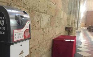 La Catedral instala desfibriladores para «cardioproteger» a sus visitantes