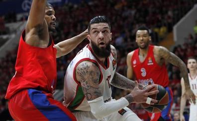El Baskonia iguala la serie ante el CSKA con un imperial Poirier