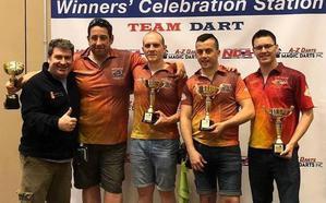 Un equipo segoviano, subcampeón del mundo de dardos
