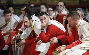 Solo dos de las diez procesiones del Jueves Santo pudieron desfilar por Valladolid