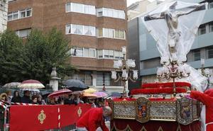 La Misericordia se la juega en el Indulto de Palencia y la lluvia no perdonó