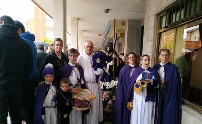 La lluvia suspende las procesiones del Miércoles y Jueves Santo en Guardo