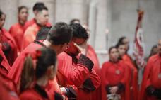 La procesión de Penitencia y Caridad de Valladolid, suspendida por la lluvia