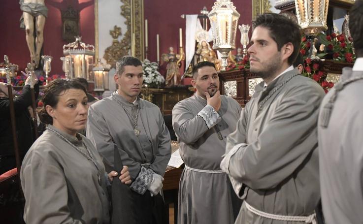 La lluvia suspende la procesión de Oración y Sacrificio de Valladolid