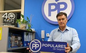 Francisco Vázquez encabeza de lista del PP a las Cortes de Castilla y León por Segovia