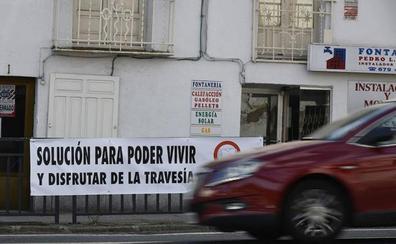 Caduca el compromiso de Fomento de desviar los camiones de la travesía de San Rafael