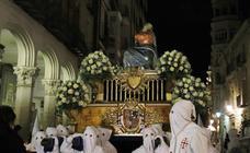 Procesión de La Quinta Angustia en Palencia