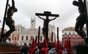 Recorrido de las procesiones del Viernes Santo en Valladolid