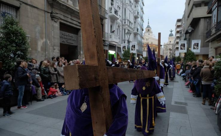 Procesión General de la Sagrada Pasión del Redentor en Valladolid (1/2)