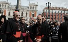 El cardenal Osoro invita en Valladolid a ser revolucionario, «no de pandereta», en el apoyo a los más débiles