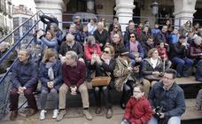 Público en el Sermón de las Siete Palabras en Valladolid