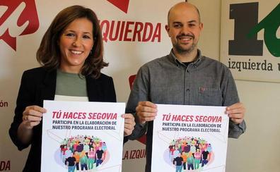 Izquierda Unida y Podemos concurrirán por separado a la Alcaldía de Segovia