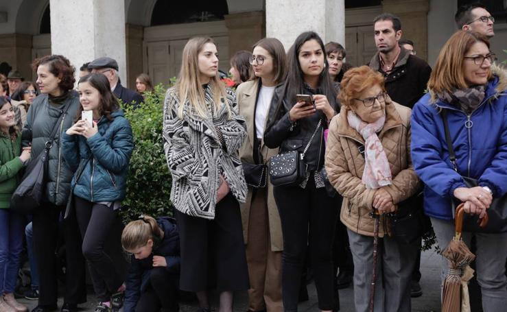 Público en la Procesión General de Valladolid (1/3)