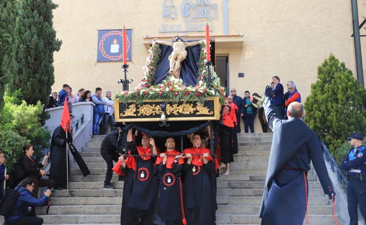 Procesión de la Hermandad del Silencio en Salamanca