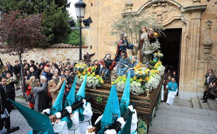 Procesión Jesús en el Huerto de los Olivos en Salamanca