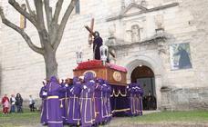 Procesión de Viernes Santo en Cuéllar