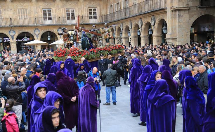 Procesión de Jesús Nazareno en Salamanca