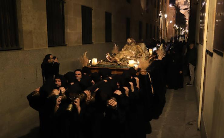 Procesión del Cristo de la Liberación en Salamanca