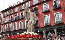 Recorrido de las procesiones del Domingo de Resurrección en Valladolid