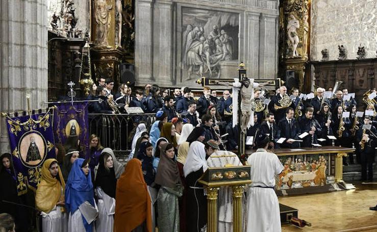 Procesiones del Viernes Santo en El Espinar y San Rafael