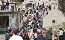 Segovia invadida por los turistas
