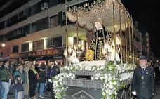 Palencia arropa a la Virgen de la Soledad