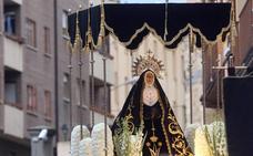 La hermandad de Santa Eulalia asegura que la Dolorosa está en «perfecto estado»