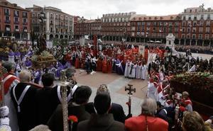 Alegría en Valladolid en el Domingo de Resurrección
