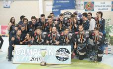 El CPLV se hace con su novena Copa del Rey de hockey en línea