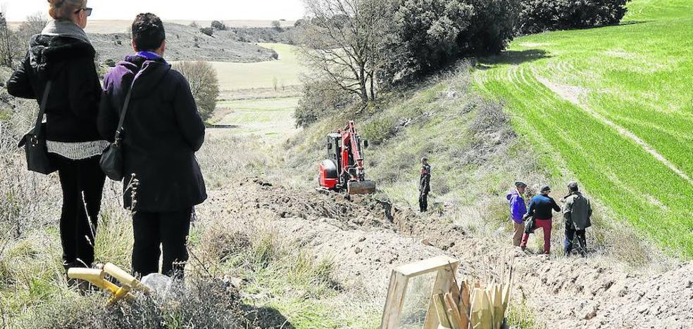 Buscan en Quintana y Villaconancio restos de represaliados de la Guerra Civil