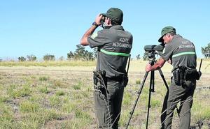 Solo una mujer entre los 65 agentes medioambientales de la provincia de Valladolid