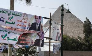 Votos por comida en Egipto