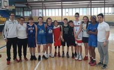 Amplia presencia salmantina en la concentración Mini de la Territorial de baloncesto en Béjar