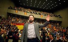 Santiago Abascal no vio el debate, descansó y preparó un mitin en Madrid