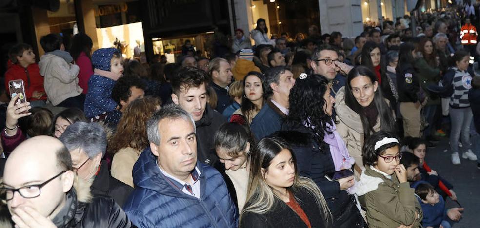 Palencia despide la Semana Santa con alta participación en las procesiones y más juventud cofrade