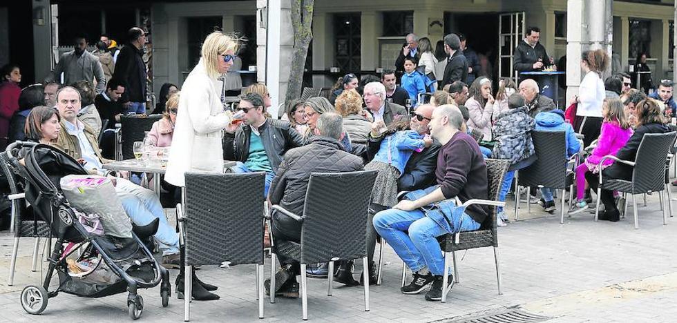 Los hosteleros de Palencia registran menos clientes por el mal tiempo en Semana Santa