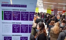 Los usuarios reclaman más plazas en los autobuses entre Madrid y Segovia