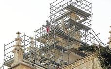La catedral de Palencia será visitable en obras desde los andamios