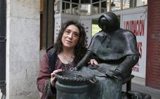 La castañera palentina que mira a París
