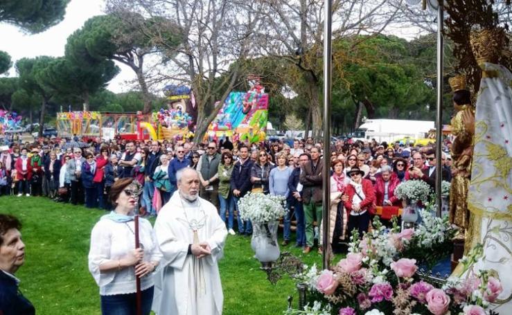 Romería de la Virgen de Sacedón en Pedrajas de San Esteban